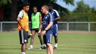 James Justin and Brendan Rodgers