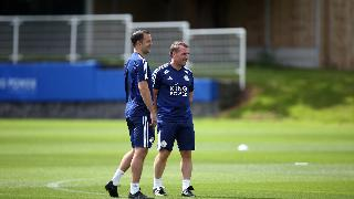 Chris Davies and Brendan Rodgers