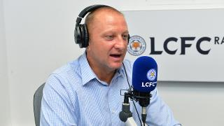 Matt Elliott in the LCFC Radio studio