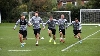 First Team Training