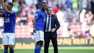 Wes Morgan & Brendan Rodgers